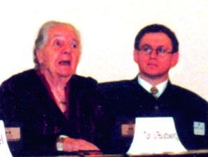 Dr. Budwig and Lothar